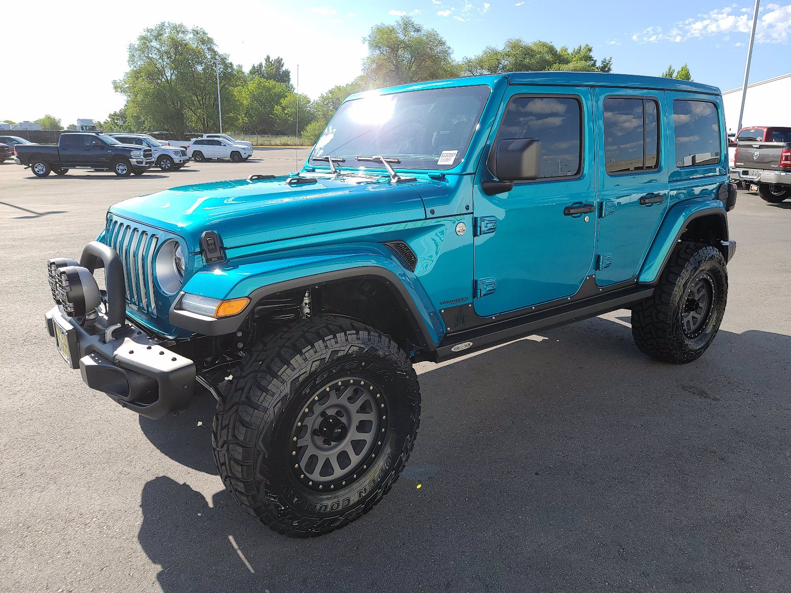 Pre-Owned 2020 Jeep Wrangler Unlimited Sahara