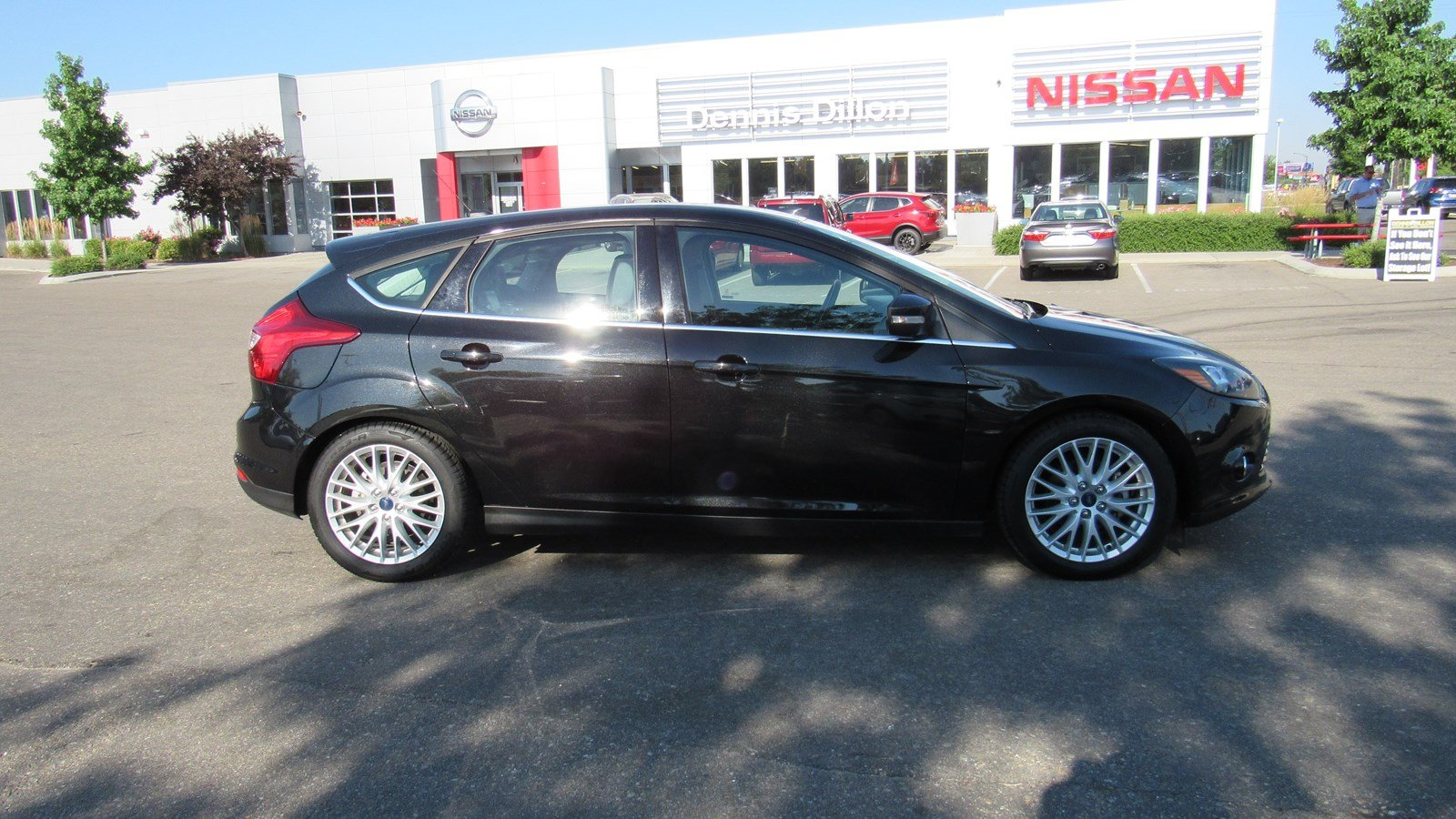 Pre Owned 2014 Ford Focus Titanium Hatchback In Boise 6j0130a 2002 Timming Engine Mechanical Problem