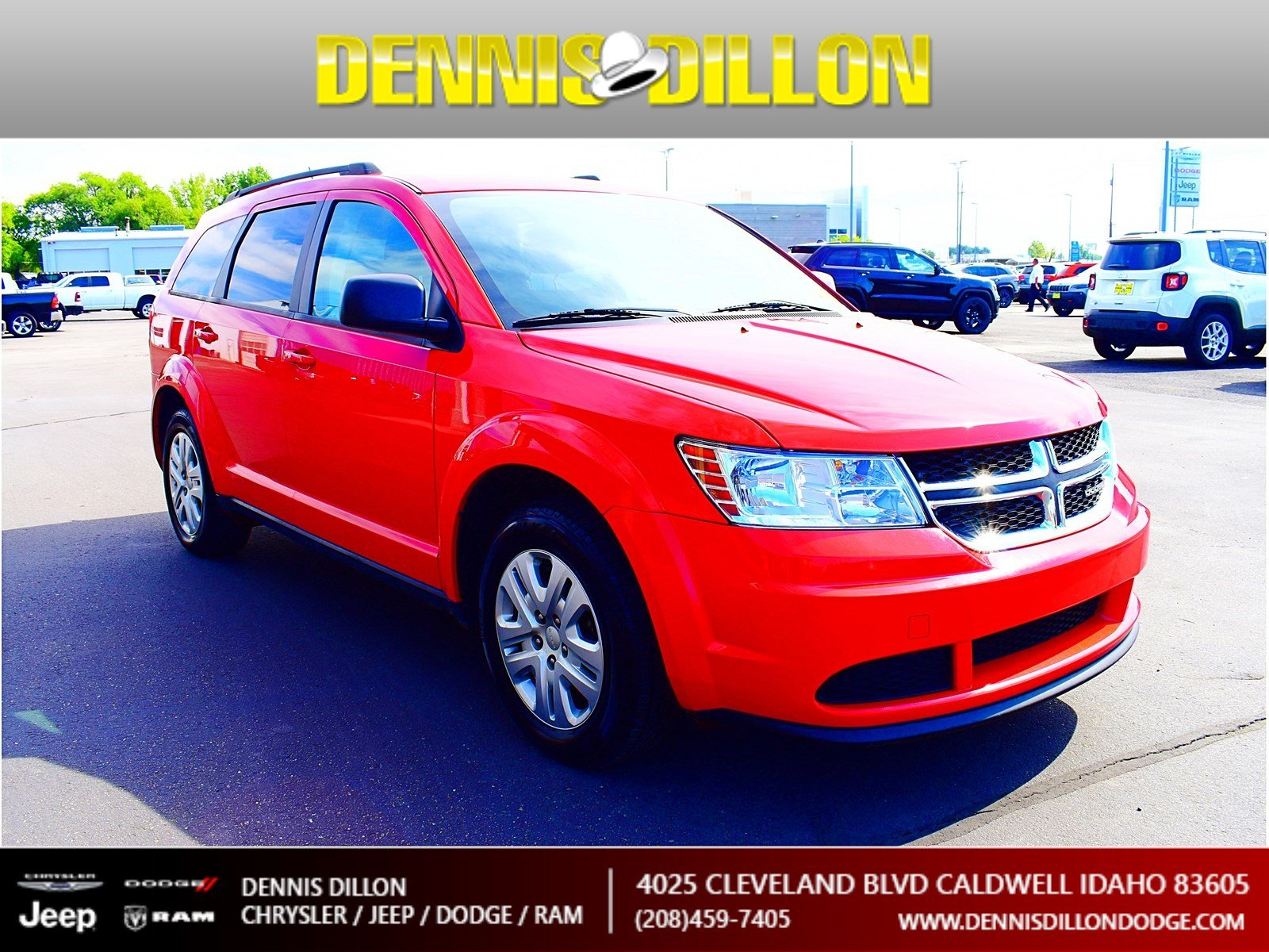 Dennis Dillon Dodge >> Certified Pre Owned 2017 Dodge Journey Se Fwd Sport Utility