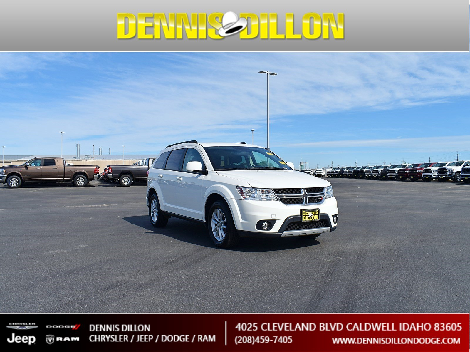 Dennis Dillon Dodge >> Certified Pre Owned 2017 Dodge Journey Sxt Sport Utility In Boise
