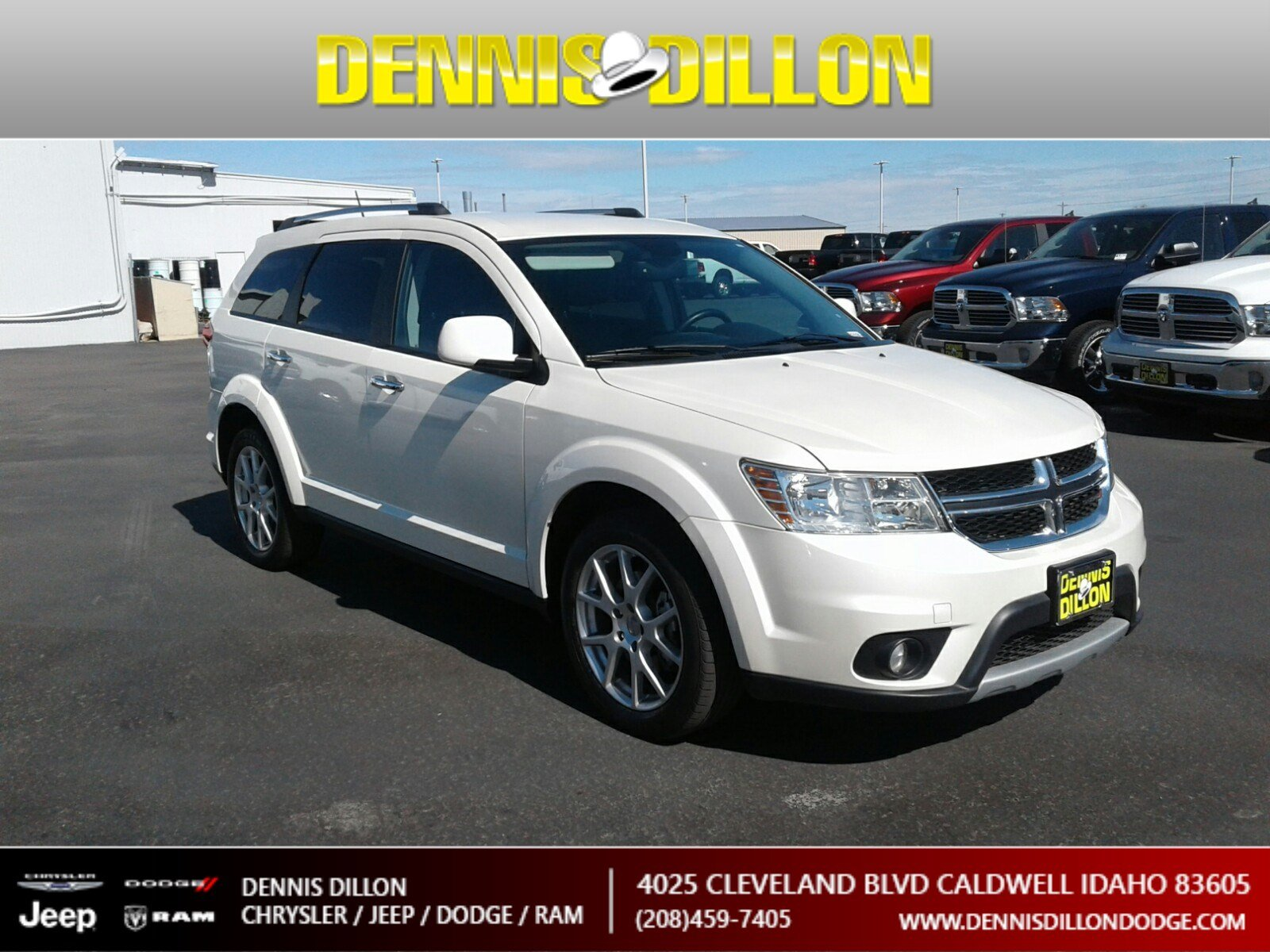 Dennis Dillon Dodge >> Certified Pre Owned 2015 Dodge Journey Limited Sport Utility In