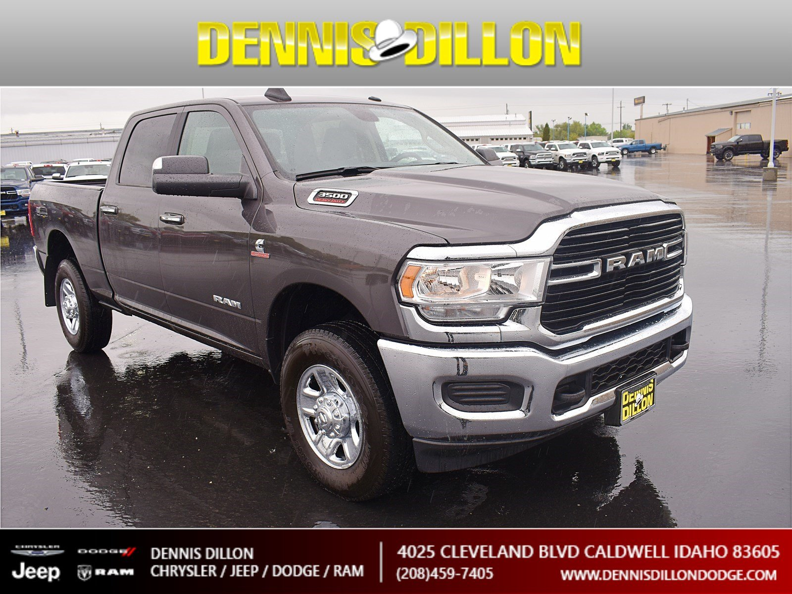 Dennis Dillon Dodge >> New 2019 Ram 3500 Big Horn 4wd