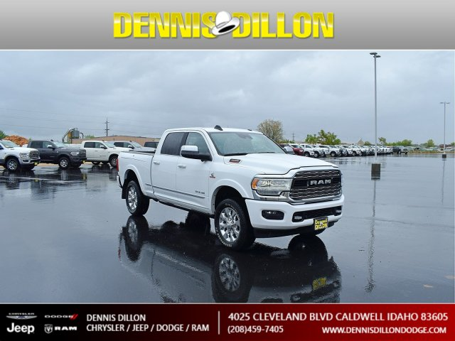 New 2019 Ram 3500 Limited With Navigation & 4WD