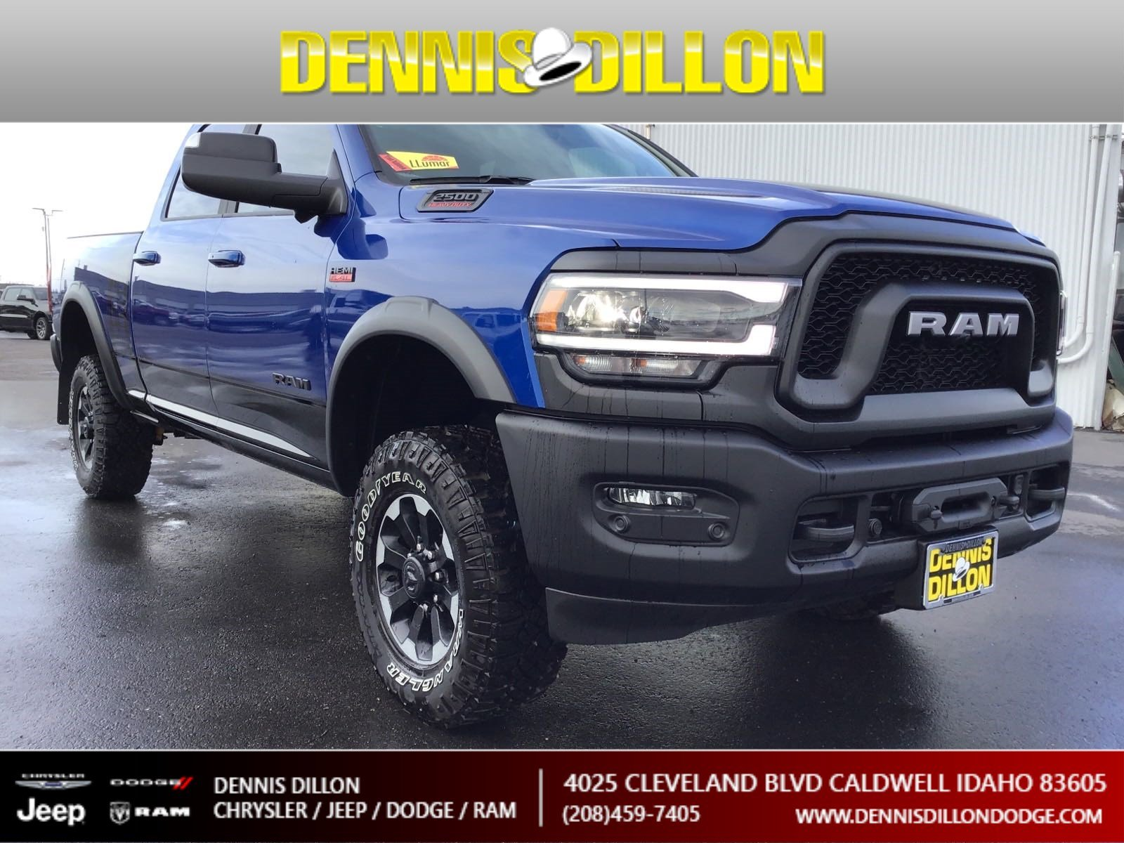 Dennis Dillon Dodge >> New 2019 Ram 2500 Power Wagon 4wd