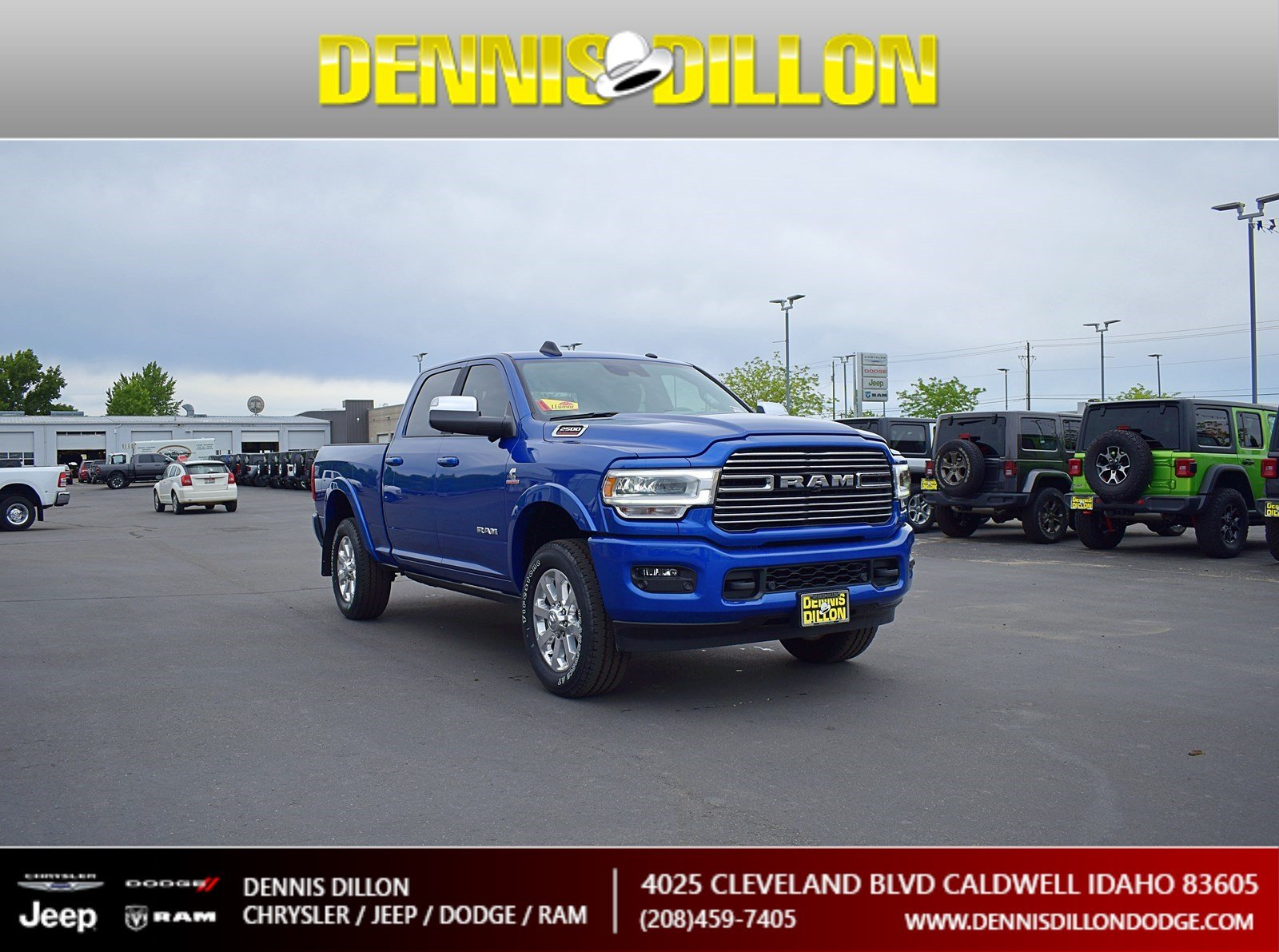 Dennis Dillon Dodge >> New 2019 Ram 2500 Laramie With Navigation 4wd