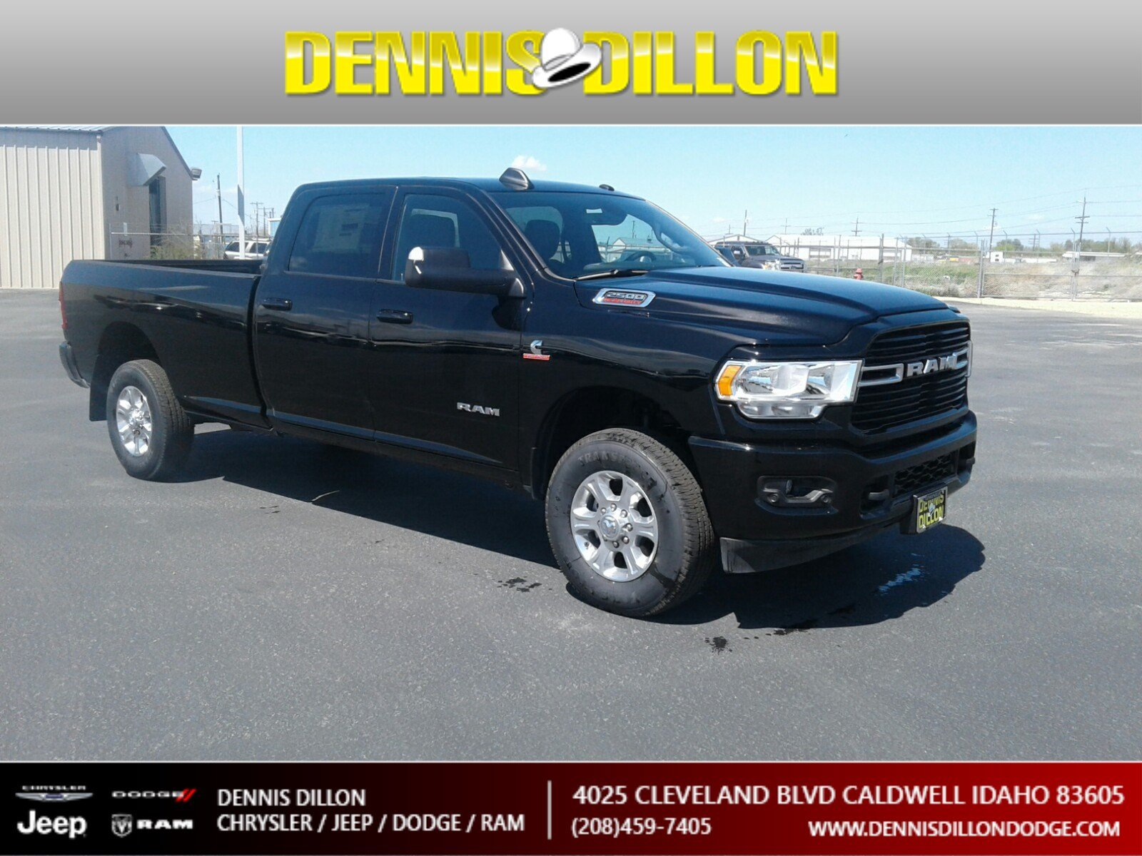 Dennis Dillon Dodge >> New 2019 Ram 2500 Big Horn 4wd