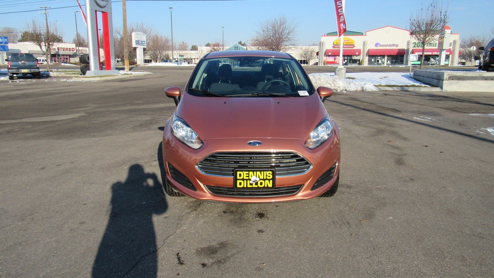 Pre Owned 2017 Ford Fiesta Se 4dr Car In Boise 9038p Dennis