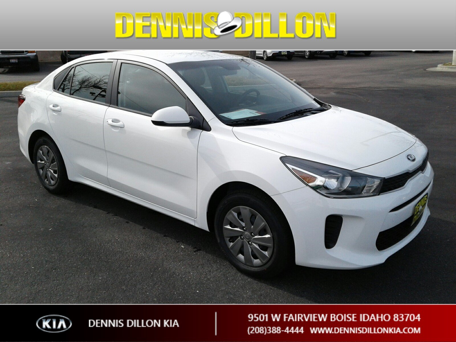 Kia Rio Lx >> New 2019 Kia Rio Lx 4dr Car In Boise K2k285 Dennis Dillon Automotive