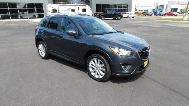 Pre Owned 2015 Mazda Cx 5 Grand Touring With Navigation Awd