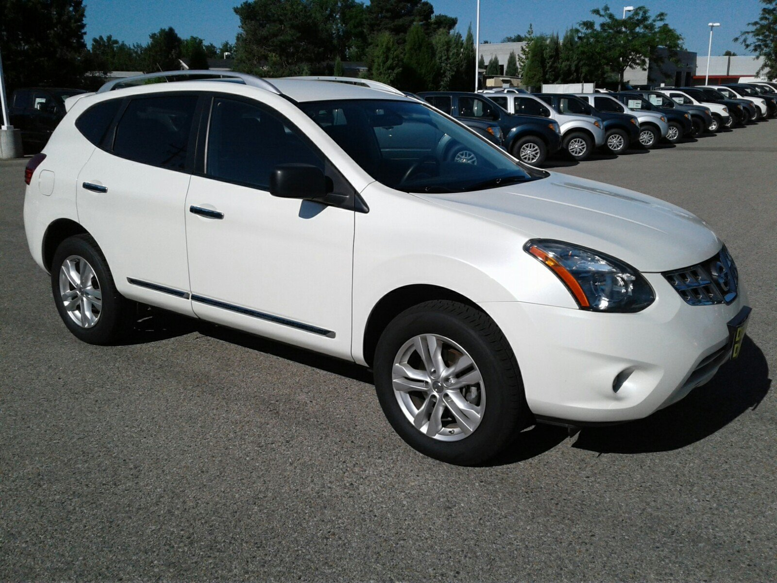 Nissan Rogue Select >> Certified Pre Owned 2015 Nissan Rogue Select S Sport Utility In